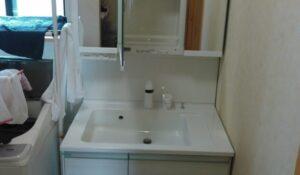 洗面台水漏れ修理|新しい洗面台に交換して解決【福岡県糸島市の事例】