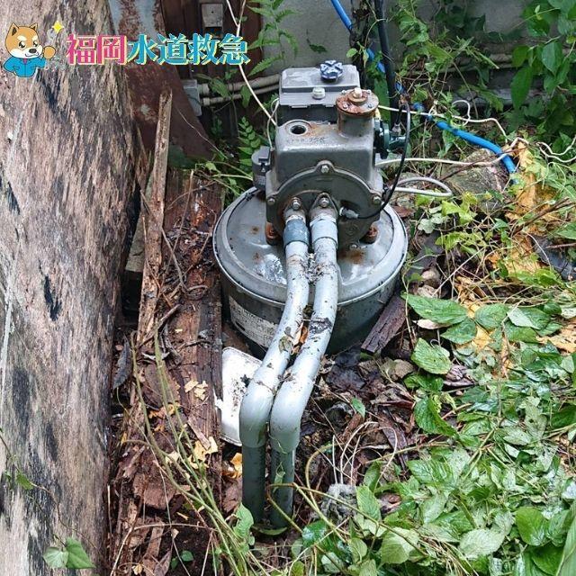 壊れた井戸ポンプ