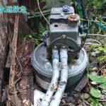 井戸ポンプ動作不良|新しい井戸ポンプと交換!【福岡県飯塚市の事例】