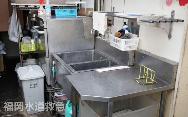 グリストラップつまり修理|高圧洗浄でつまり解消!【福岡県田川郡の事例】
