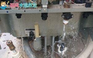エコキュート水漏れ|新しいエコキュートに交換し解決!【福岡県小郡市の事例】