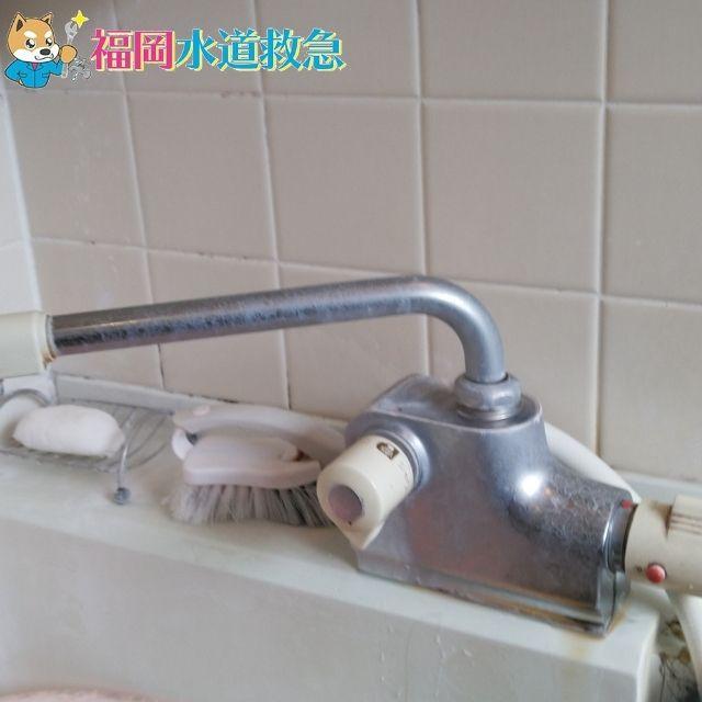 水漏れしている水栓