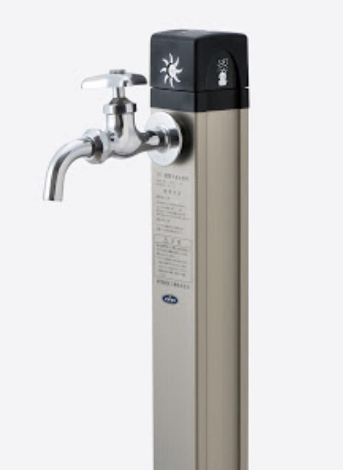 屋外水道蛇口(水栓柱)