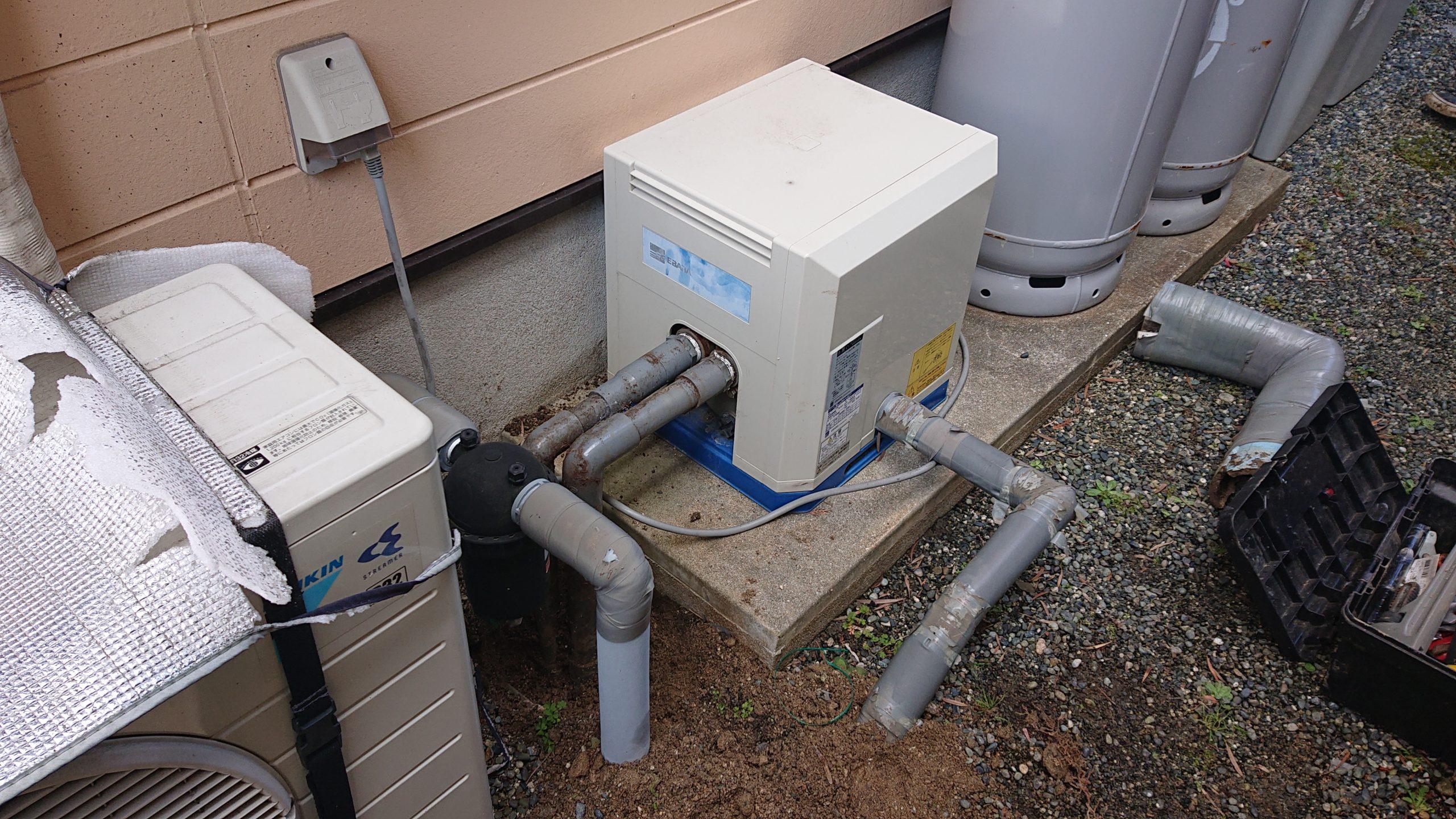 故障した井戸ポンプ