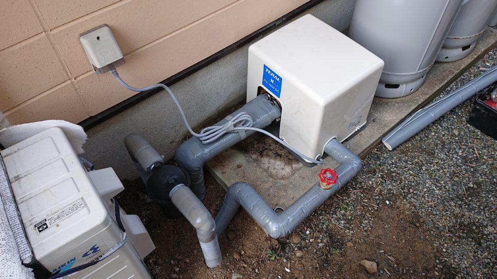 井戸ポンプからの水が出なくなった!井戸ポンプ本体とジェット交換で解決!