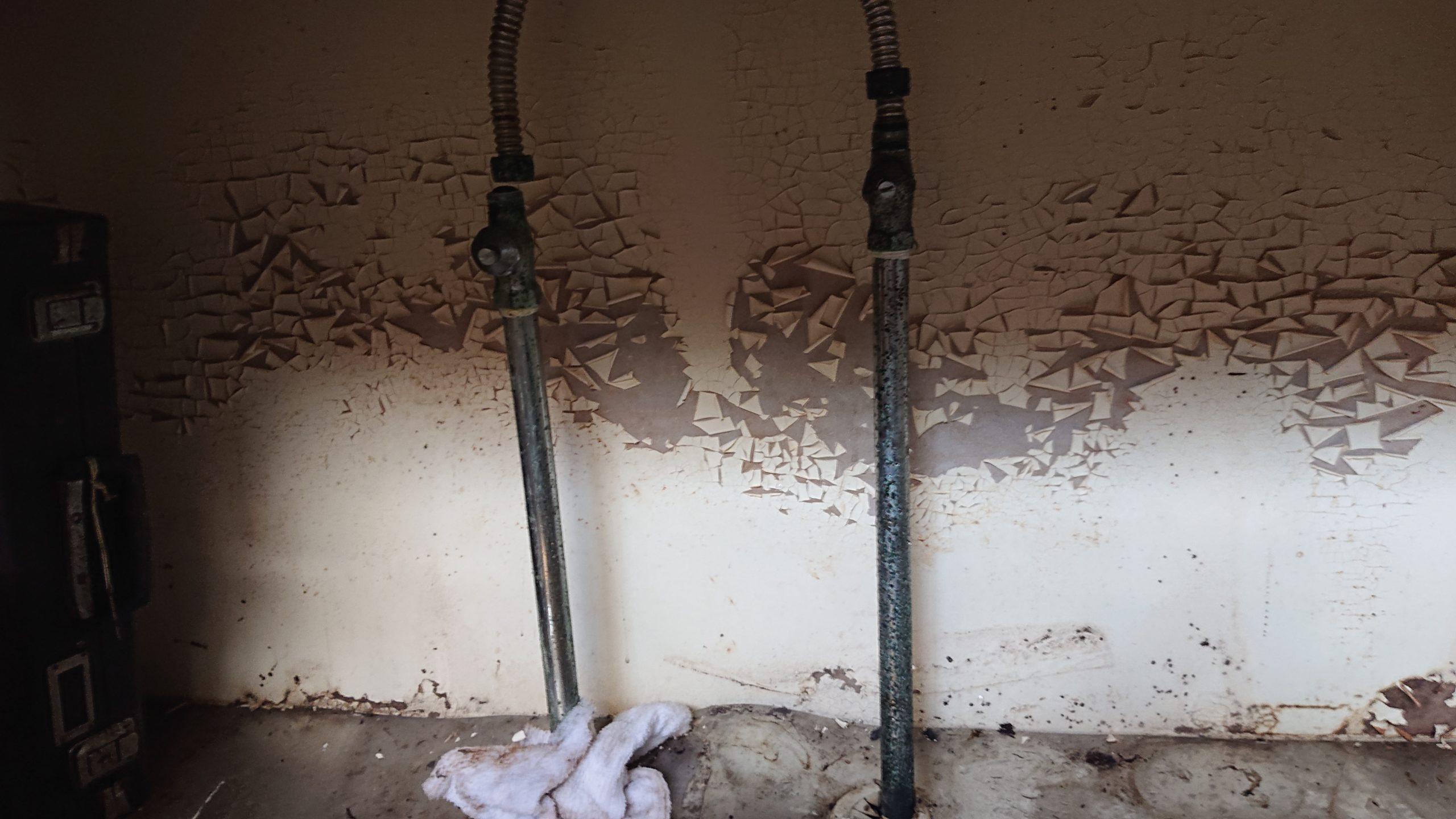 劣化した給水管
