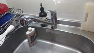 キッチン水漏れ|水道が水漏れで修理!