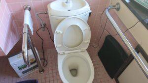 トイレつまり修理|糖尿病治療薬の影響でつまった排水桝を高圧洗浄機で洗浄し解決!【熊本市南区の事例】