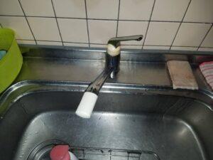 キッチン蛇口水漏れ|新しい蛇口と交換して解決!【佐賀市諸富の事例】