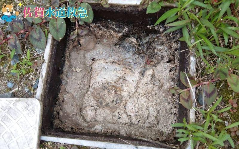 キッチンつまり修理 排水桝に詰まった汚れを高圧洗浄!【佐賀県三養基郡の事例】